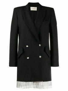 Giuseppe Di Morabito smoking jacket dress - Black