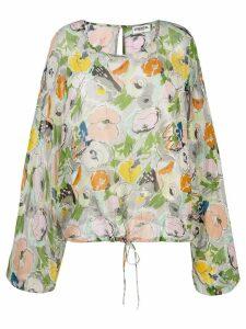 Essentiel Antwerp Tristori oversized blouse - Green