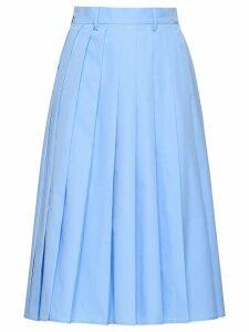 Prada Poplin skirt - Blue