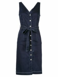 3x1 Albany denim midi dress - Black