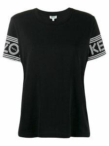 Kenzo logo sleeve T-shirt - Black