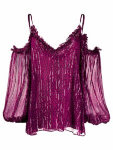 Stella McCartney kiara top - Purple