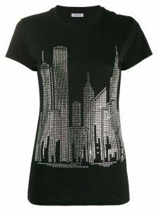 P.A.R.O.S.H. skyline T-shirt - Black