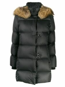 Fay padded parka coat - Black