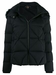 Colmar hooded puffer jacket - Black