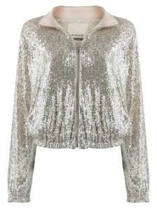 Pinko Derby jacket - Silver