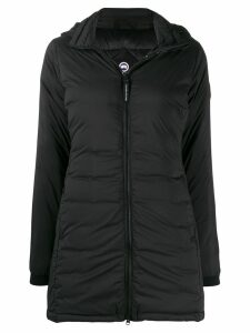 Canada Goose hooded padded coat - Black