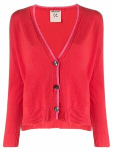 Semicouture Jude cardigan - Red