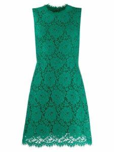 Dolce & Gabbana floral lace mini dress - Green
