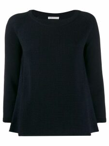 Stefano Mortari ribbed knit sweater - Blue