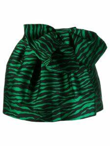 P.A.R.O.S.H. zebra print skirt - Green