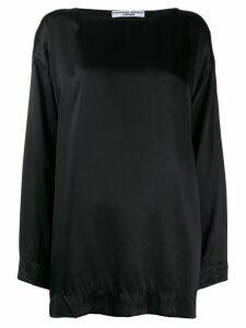 Katharine Hamnett London oversized Meg top - Black