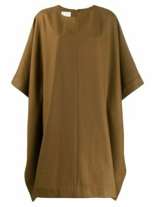 A.P.C. knitted cape coat - Brown