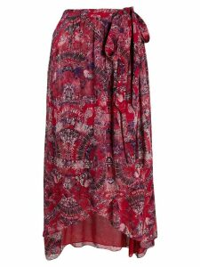Iro Deroie skirt - Red