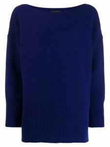 Roberto Collina knitted jumper - Blue