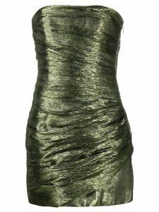 Dsquared2 metallic bustier dress - Green