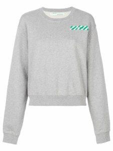 Off-White printed sweatshirt - Grey