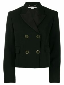Stella McCartney cropped blazer - Black