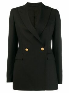 Tagliatore single-breasted blazer - Black