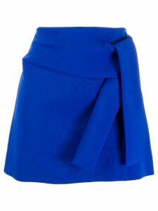 P.A.R.O.S.H. tie waist skirt - Blue