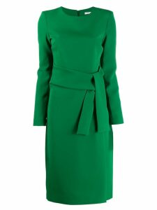 P.A.R.O.S.H. long-sleeved midi dress - Green