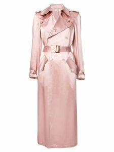 Fleur Du Mal classic trench coat - Pink