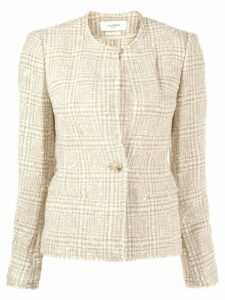 Isabel Marant Étoile fitted tweed blazer - Neutrals