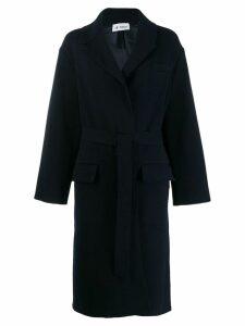 Barena belted trench coat - Blue