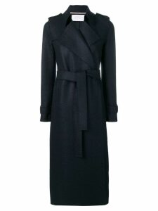 Harris Wharf London longline coat - Blue