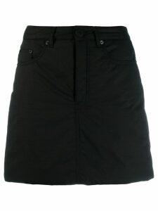 Mm6 Maison Margiela high-rise short skirt - Black