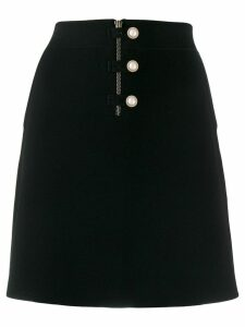 Sandro Paris high-waisted short skirt - Black