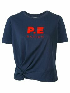 P.E Nation Lay Up logo T-shirt - Blue