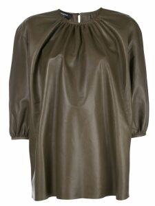 Rochas oversized blouse - Green