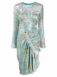 Preen By Thornton Bregazzi Daisy sequin dress - Silver