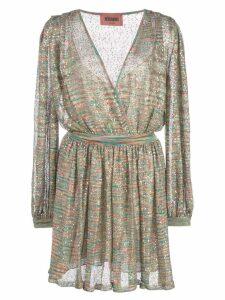 Missoni sheer day dress - Green
