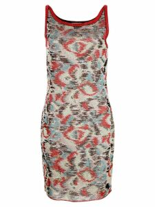 Missoni patterned day dress - Multicolour