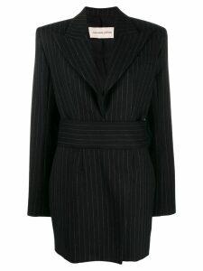 Alexandre Vauthier pinstripe suit dress - Black