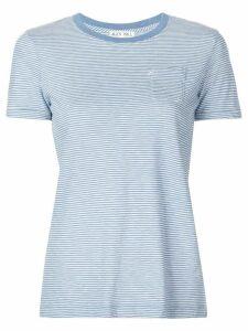 Alex Mill chest pocket striped T-shirt - Blue