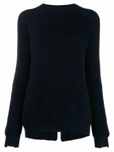 Stefano Mortari ribbed sweater - Blue