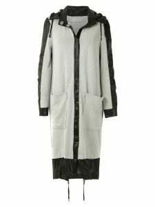 Mara Mac panels maxi coat - Grey