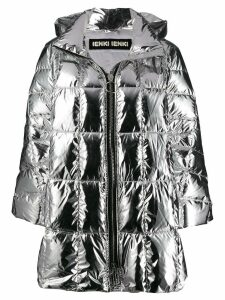 Ienki Ienki oversized padded jacket - Silver