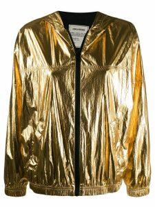 Zadig & Voltaire Koody metallic hoodie - Gold