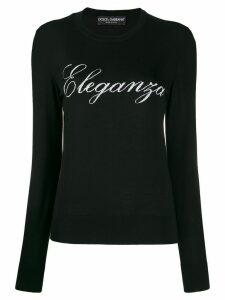 Dolce & Gabbana Eleganza sweater - Black