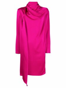 Gianluca Capannolo draped dress - Pink