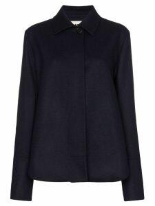 Jil Sander collared jacket - Blue