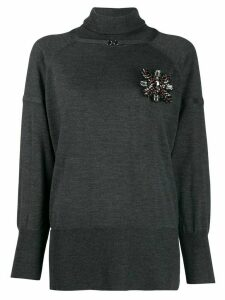Pinko roll neck jumper - Grey