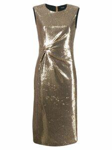 P.A.R.O.S.H. Pille dress - GOLD