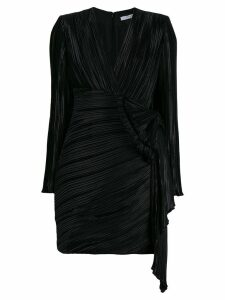 Givenchy pleated mini dress - Black