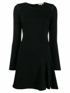 Patrizia Pepe flared short dress - Black