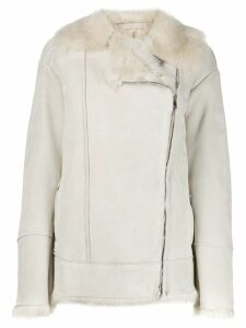 Salvatore Santoro lined coat - White